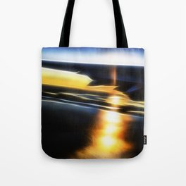 Sunset wing Tote Bag