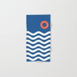 Nautical 03 Seascape Hand & Bath Towel