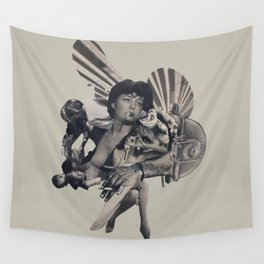 Leisure Burns Wall Tapestry