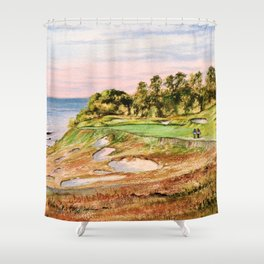 Whistling Straits Golf Course Shower Curtain