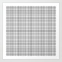 grid Art Prints featuring Grid by Georgiana Paraschiv