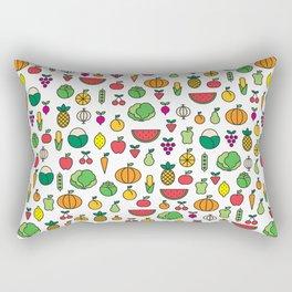 fruits & vegetables Rectangular Pillow