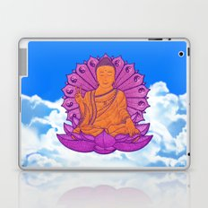 Peace Buddha in the Sky Laptop & iPad Skin