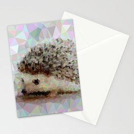 Geometric Hedgehog Stationery Cards