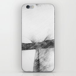 Pants Down iPhone Skin