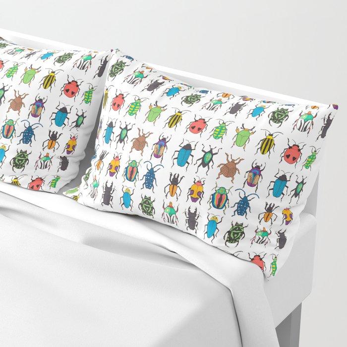 Beetle Species Pillow Sham
