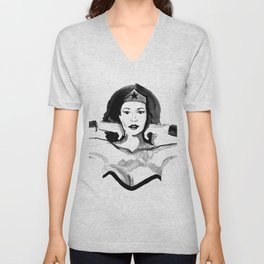 Isn't She Wonderful? Unisex V-Neck