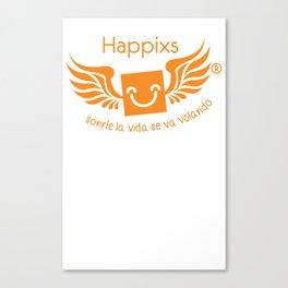 Happixs Hoodie Canvas Print