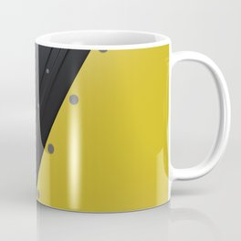 Colored plate with rivets Coffee Mug