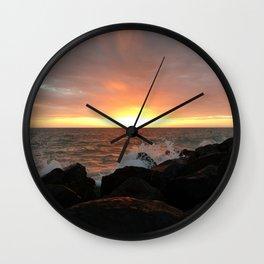 Florida Sunset Wall Clock