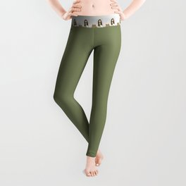 Bouguereau's Alien Shepherdess Leggings