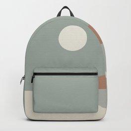 Geometric Landscape 03 Backpack