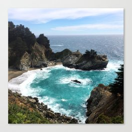 Julia Pfeiffer Falls Canvas Print
