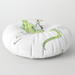 Dinosaur S'Mores Children's Art Floor Pillow