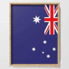 Flag of Australia Serving Tray