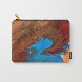 Arizona Agate Slab Carry-All Pouch