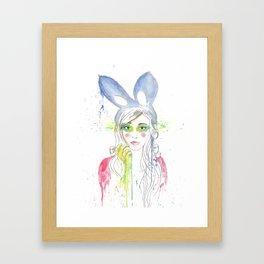 Melunny Framed Art Print