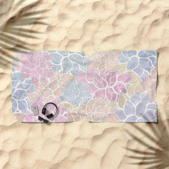 Summer Pattern #9 Beach Towel