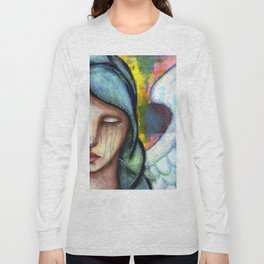 Crying Angel Long Sleeve T-shirt