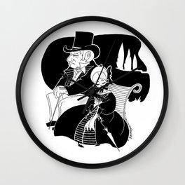 M. Leblanc et Mlle. Lanoire Wall Clock