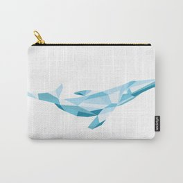 Glass Whale Carry-All Pouch