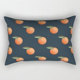 Pattern with mandarin in retro style Rectangular Pillow