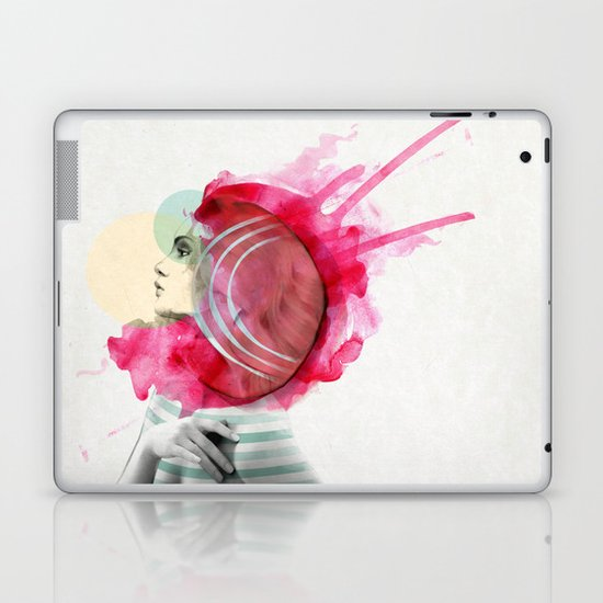 Bright Pink Laptop & iPad Skin