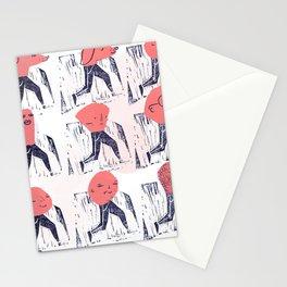Perritos, humanos & un trompo de Pastor. Stationery Cards