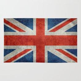 UK flag, High Quality bright retro style Rug