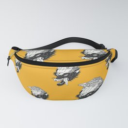 Wolf In Sheeps Clothing Pattern Fanny Pack