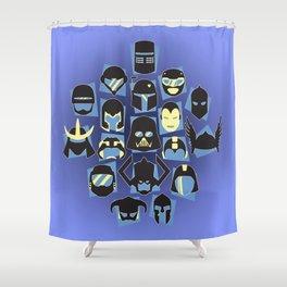 Helmets Shower Curtain