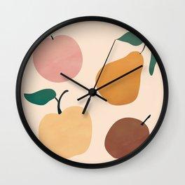 Four Fruit Wall Clock