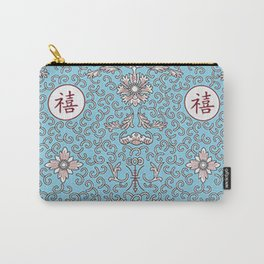 happiness & longevity (chinese character) Carry-All Pouch