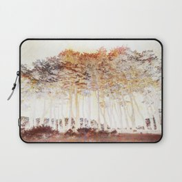 Abstract Monterey Cypress In Infrared with Tint Overlay Laptop Sleeve