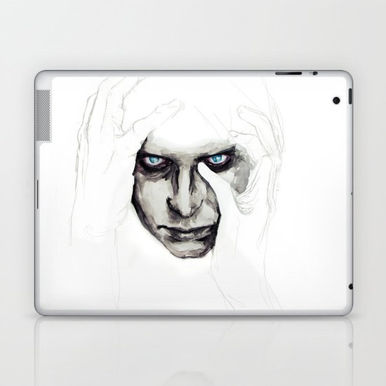 detail insomnia Laptop & iPad Skin