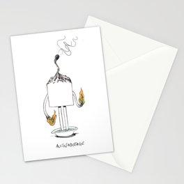 Autosabotage Little Cube Stationery Cards