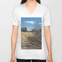 yosemite V-neck T-shirts featuring Yosemite by Adelaine Phee