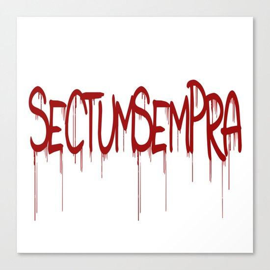 Sectumsempra Canvas Print