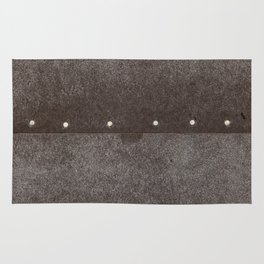 Cracked & Pinned Leather (California) Rug