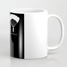 Paraglider, extreme sportsmen , flight Coffee Mug