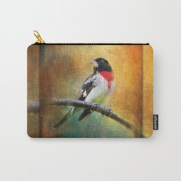 Rose-breasted Grosbeak ~ Ginkelmier Inspired Carry-All Pouch