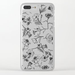 Full Bloom Clear iPhone Case