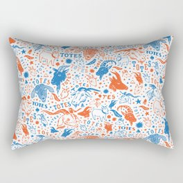 Totes Ma Goats Rectangular Pillow