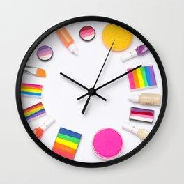 Colorful Image, Makeup Artist, Photo, Image, Wristwatch Image, Sour Stick, Colorful Image, Photograp Wall Clock