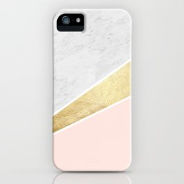 Colorful texture V iPhone Case