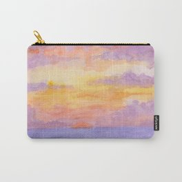 Experimental Sunset in Watercolour Carry-All Pouch