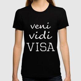 Veni Vidi Via Fun Shopping Gift Design T-shirt