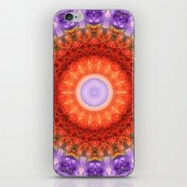 Majesty Mandala Art by Sharon Cummings iPhone Skin