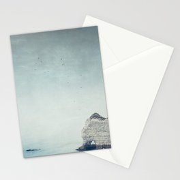 Falaise d'Amont - Côte d'Albatre Normandie France Stationery Cards