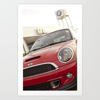 mini Art Prints featuring Mini by SShaw Photographic